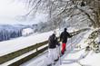 gemeinsamer Winter-Spaziergang