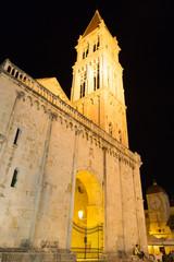 Cathédrale de Trogir de nuit