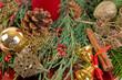 canvas print picture - Weihnachtshintergrund