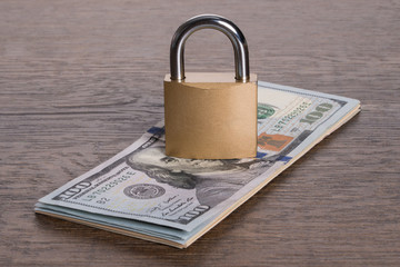 Money security concept