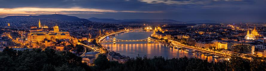 Budapest Panorama by night