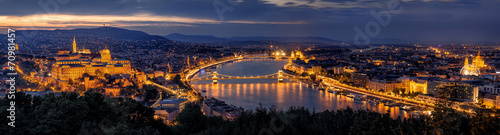 Budapest Panorama by night
