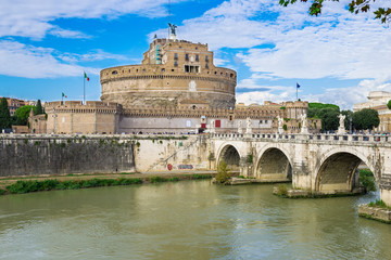 Castle Sant Angelo in Roma. Italy