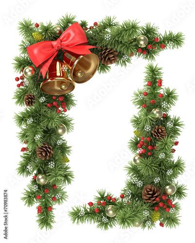 Christmas tree corner. - 70983874