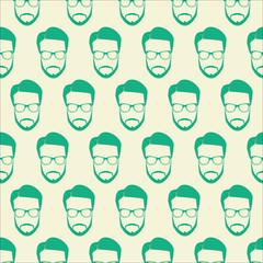 Green vector Face Icons