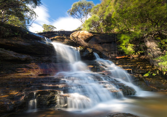 Wentworth falls in Blue Mountains national Park