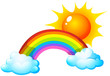 Sun and rainbow - 70984867