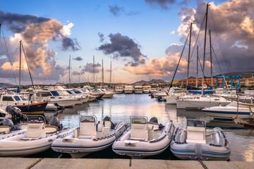 Sardegna, Palau, porto turistico