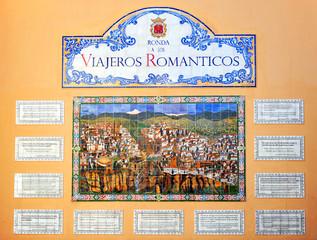 Viajeros románticos, Ronda, Málaga, España