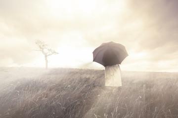 Concept deuil et espoir