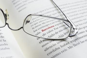 Palabra Barcelona en Libro