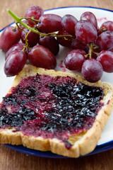 grape jelly sandwich