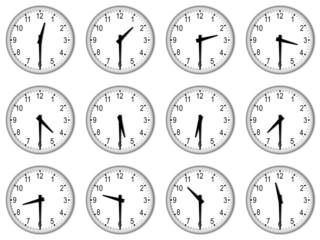 Orologi alla mezzora