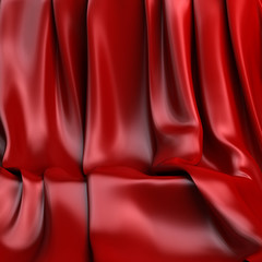 Background made of red  cloth for a still-life