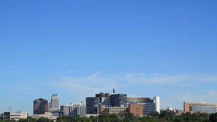 Orlando FL City Sky Line time lapse