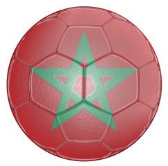 Soccer Ball Morocco