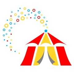 Magic Party Circus Tent