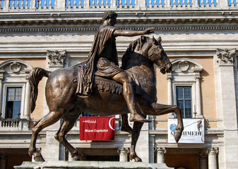 Estatua de Marco Aurelio