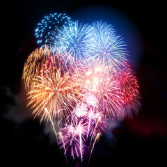 Large Professional Fireworks Display