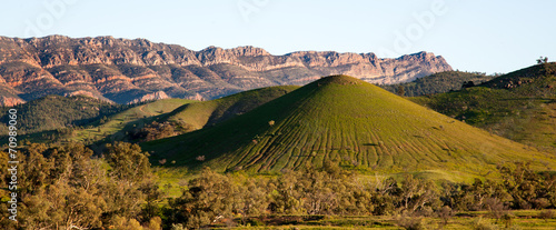 Tuinposter Canyon scene in Flinders Ranges Australia