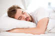 Sleeping young man - 70989611