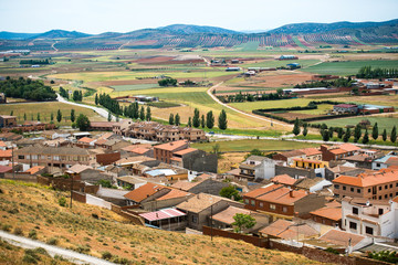 view of a small town