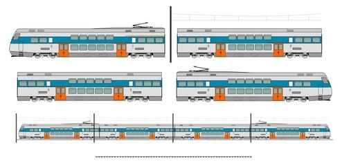 City transport train kit