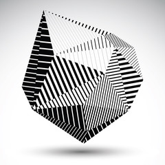 Multifaceted eps8 asymmetric contrast figure with parallel lines