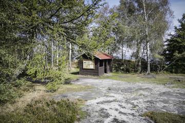 Schutzhütte Großer Zirschstein, Nationalpark Sächsische Schweiz