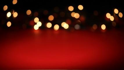 Christmas decoration - blinking defocused lights