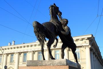 Скульптура. Укрощение коня.