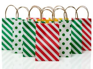 カラフルなショッピンングバッグ