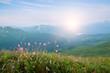 landscape of mountain range