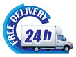 Free delivery Ð 24h