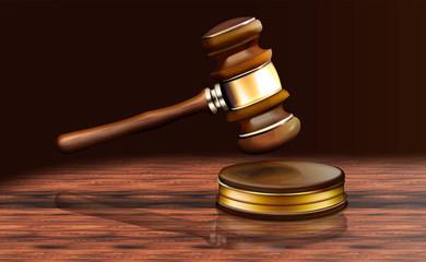 Gerichtshammer, Richterhammer, Auktionshammer