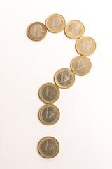 Geld Fragezeichen