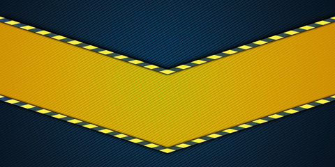 Yellow striped background