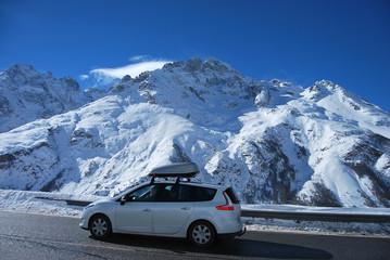 En route pour le ski
