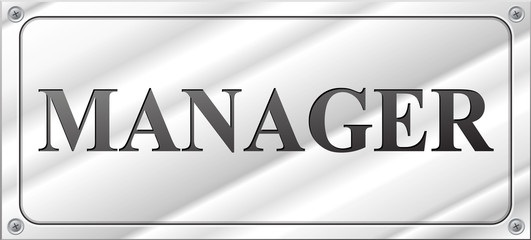 Vector manager design sign