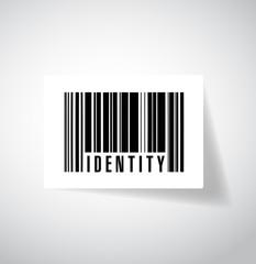 identity barcode illustration design