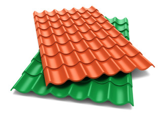Shingles roof sheets