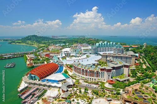 Deurstickers Singapore Sentosa island 2