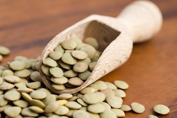 Dry Organic Green Lentils