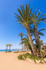 Aguilas Poniente beach Murcia in Spain