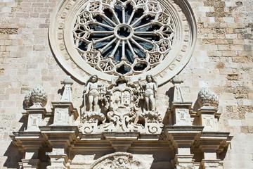 Otranto, rosone della Cattedrale