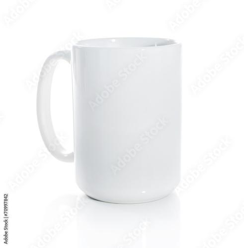 Plexiglas Thee Cup white