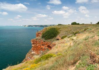 Bulgaria, Black Sea coast. Stones of Kaliakra headland