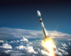 "Carrier Rocket ""Soyuz-Fregat"" Take Off"