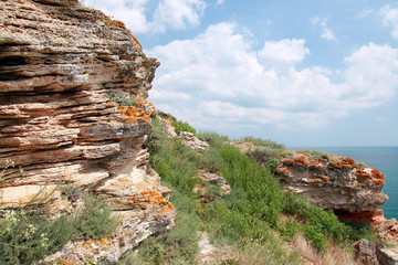 Stones of Kaliakra headland, Bulgarian Black Sea Coast