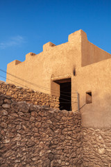 Ancient fortress in Catalonia, Spain. Iberian Citadel of Calafel